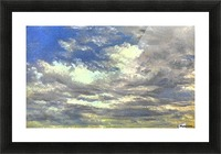 Cloud Study Picture Frame print