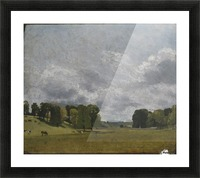 View at Epsom Picture Frame print