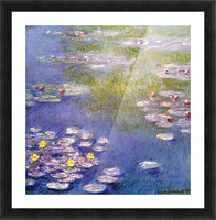Nympheas at Giverny Picture Frame print