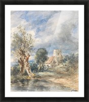 Stoke Poges Church Picture Frame print