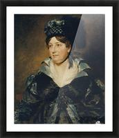 Mrs. James Pulham Picture Frame print