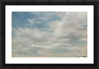 Clouds 1822 Picture Frame print