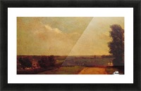 View at Dedham Picture Frame print