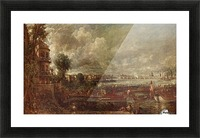 Landscape of a city Picture Frame print