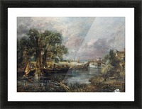 View on the River Stour Picture Frame print