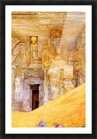 Abu Simbel Picture Frame print