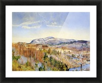 Mt. Everett from Monument Mountain Picture Frame print