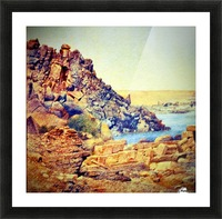 The Temple of Philae from the Outer Court Picture Frame print