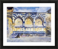 The Three Arches of Santa Maria Novella Picture Frame print