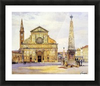 The main square Picture Frame print