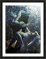 THE DANCE OF LOVE BY TREES Picture Frame print