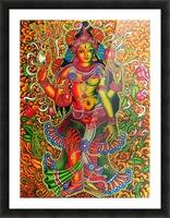 ARDHA NAAREESHWARAN LORD SIVA AND PARVATHY Picture Frame print