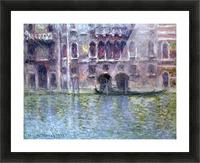 Palazzo da Mula, Venice by Monet Picture Frame print