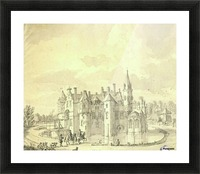 Horsemen returning to the city Picture Frame print