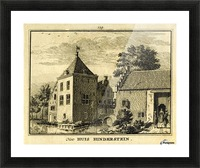 Huis Hinderstein Picture Frame print