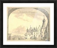 Kasteel Doorwerd 1744 Picture Frame print