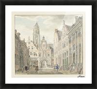 Nieuwstraat door Picture Frame print