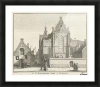 Katharynen Kerk Picture Frame print
