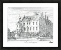 Huis te Asten Picture Frame print
