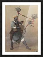 A Nubian harper Picture Frame print