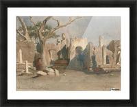 The Mohamedan Cemetery near Boolak 1874 Picture Frame print