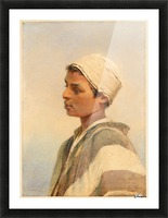 A Bedouin Boy Picture Frame print