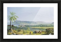 Landscape of Palermo Picture Frame print