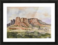 Buttes of Sedona  Picture Frame print