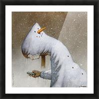 snowman Impression et Cadre photo