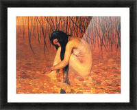 Bathing by Felix Vallotton Picture Frame print