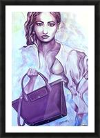 bag_lady_print Picture Frame print
