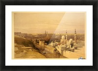 View of Old Cairo Picture Frame print