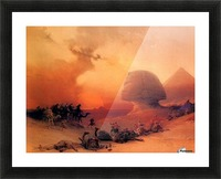 The Sphinx at Giza Picture Frame print