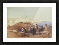 Jaffa, View from South Picture Frame print