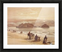 The Island of Graia Picture Frame print