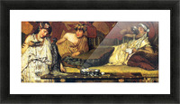 The dinner (Greek), detail by Alma-Tadema Picture Frame print