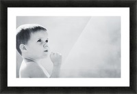 Expression Of A Child Picture Frame print
