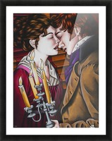 Eternal love Picture Frame print
