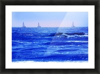 A Good Day For Sailing Picture Frame print