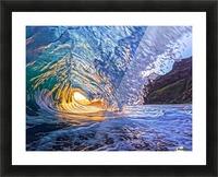 Kauai sunrise Picture Frame print