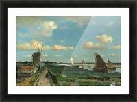 De trekvliet,1870 Picture Frame print