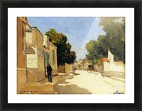 House of Millet at Barbizon Picture Frame print