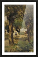A walk in the park Picture Frame print