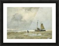 Strandgezicht Picture Frame print