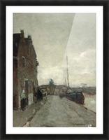 A View on Het Spaarne, Haarlem Picture Frame print