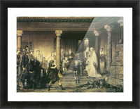 The education of children Clovis by Alma-Tadema Picture Frame print