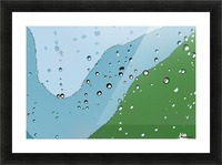 Raindrops 1  Picture Frame print