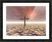 The Mystery Of The Cross Picture Frame print