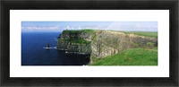 Cliffs Of Moher, Co Clare, Ireland; Cliffs On The Atlantic Ocean Picture Frame print