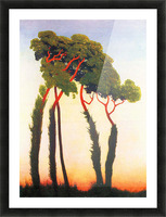 Five Trees by Felix Vallotton Picture Frame print